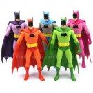 5 PcsLot DC Direct Color Batman Collectible Comic Universe 6''action figure