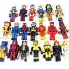 10pcs Random pick Marvel Legends Thor Spider-man Batman X-Men mini Figure