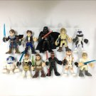 11x Playskool Heroes Star Wars Galactic Heroes OBI WAN, DARTH MAUL, R2-D2 figure