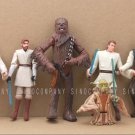 6 Pcs Star Wars Hot Toy Han Solo Yoda Kenobi Obiwan Movie Figure Boys Girls Gift
