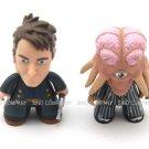 2x Doctor who Titans Vinyl Figures Captain Jack Harkness & Dalek Sec Hybrid Toys