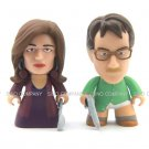 2pcs Breaking Bad Heisenberg Collection Marie Walter White Titans Vinyl Figures