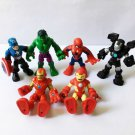 "6pcs Spider-man Playskool Heroes Super Hero Adventures 2.5""Action Figure QA456"