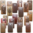 Natural Wood Bamboo Skin Case Cover Shell For Samsung Galaxy S7 / S6 Edge Plus