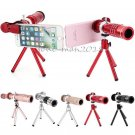 Universal 18X Mobile Telephoto Telescope Camera Lens Clip For iPhone 7 Samsung