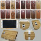 Genuine Carved Wood Case Bamboo Cover For Samsung Galaxy S7 S6 Edge Plus Note 5