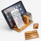 Charging Dock Station Stand Holder Cradles For Apple Watch iPhone 8 i Pad Air 2