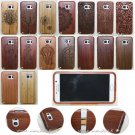 Original Wood Bamboo Hard Case Back Cover+Film For Samsung Galaxy S8 Plus/S7