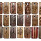 Original Natural Bamboo Wood Wooden Hard Case Cover for Samsung Galaxy S5 i9600