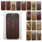 Natural Wood Bamboo Hard Case Back Cover for Samsung Galaxy S7 Edge S6 Edge S5