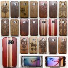 Original Wood Bamboo Hard Case Cover for Samsung Galaxy S8 Plus S8 S7 Edge S5