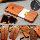Natural Wooden Wood Bamboo Phone Case For iPhone 6/6s/6 Plus/6s plus SE 5s Cover