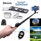 Selfie Stick Monopod+Bluetooth Remote 3in1 Lens for Samsung Galaxy S8/S8 Plus/S7