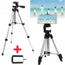 Camera Tripod Stand Mount Holder+Bag For iPhone 7 Plus Samsung Galaxy S8 Plus