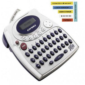 DYMO ELECTRONIC LABELMAKER LETRATAG QX50 LETRA TAG