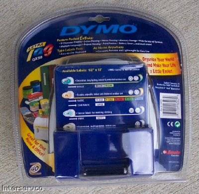 DYMO LETRATAG QX50 PERSONAL ELECTRONIC LABELMAKER NEW!!