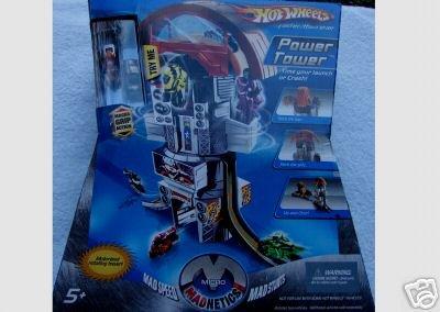 HOT WHEELS Power Tower  Micro Madnetics