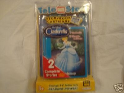 Disney's Cinderella Telestory Storybook Cartridge