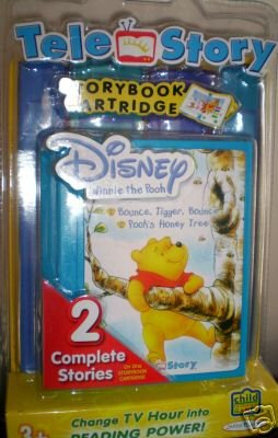 Winnie The Pooh Interactive Storybook Cartridge Toy NEW