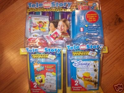 smart Educational toy TELE STORY INTERACTIVE STORYBOOK