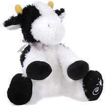 Shining Stars: Black and White Cow