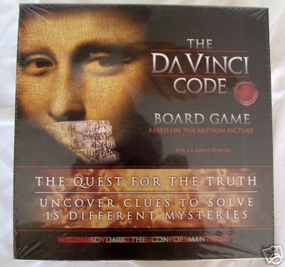 Board games with a Da Vinci theme ROMANTIC GIFTS HOT TOY