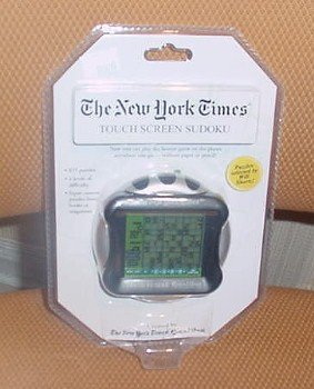 THE NEW YORK TIMES TOUCH SCREEN SUDOKU