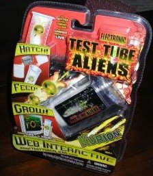 ELECTRONIC TEST TUBE ALIENS KURION WEB INTERACTIVE NEW