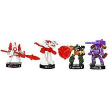 Attacktix Intergalactic Showdown Transformers Battle