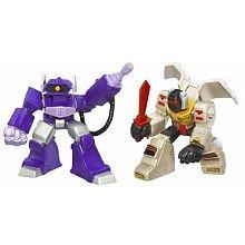 Transformers Movie Robot Grimlock vs Shockwave