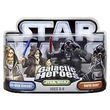Star Wars Galactic Heroes 2-Pack Figures: Darth and Obi-Wan