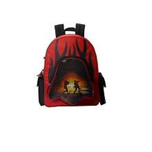 Star Wars Red and Black 3-D backpack with Pencil Case