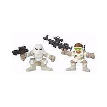Star Wars Galactic Heroes: Rebel Trooper & Snowtrooper Figures