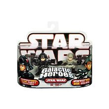 Star Wars Galactic Heroes 2-Pack Figures: Imperial Officer and Death Star Trooper