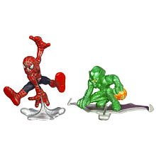 Spider-Man Superhero Squad Spider-Man vs Green Goblin