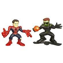 Spider-Man Superhero Squad Spider-Man vs New Goblin