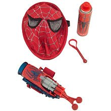 Spider-Man 3 Reversible Red to Black Spider-Man Mask and Web Blaster