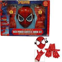 Spider-Man Web Power Glove & Mask Set