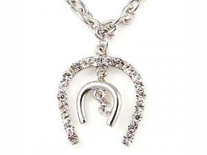 Crystal Horseshoe Necklace