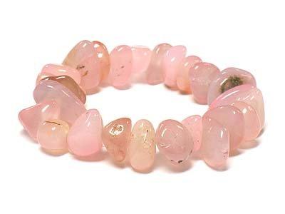 Beautiful Pink Stone Stretch bracelet