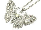 Gorgeous Crystal Butterfly Necklace