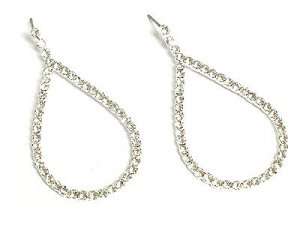 Beautiful Crystal Teardrop Earrings