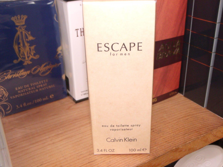 Escape by Calvin Klein 3.4 Fl.Oz EDT 100 ml for men