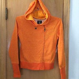 "Fox Racings - ""Integrate"" Zip Hoody - Orange - Size Small - NEW"