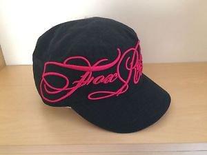 "Fox Racing ""Junkyard Biker"" Military Hat - Adjustable - Pink/Black - NEW"