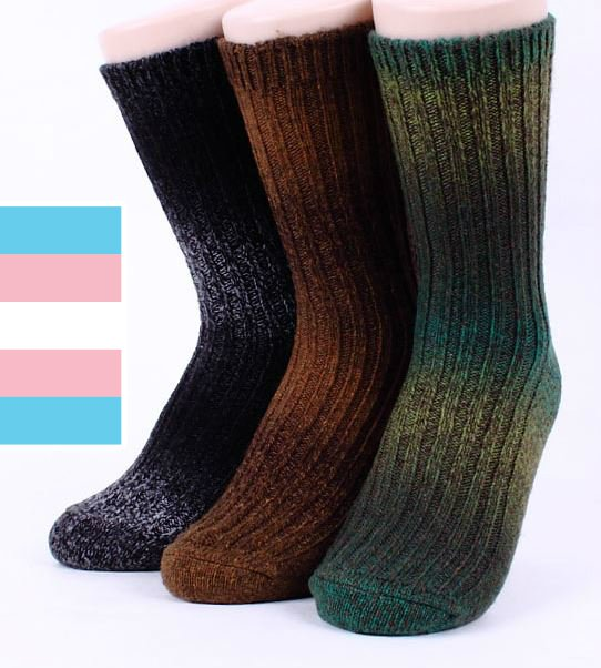 CHOICE!!! THERMAL SOCKS WOOL GRADATION WOMEN'S WINTER SOCKS MADE IN KOREA
