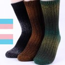 CHOICE!!! THERMAL SOCKS WOOL GRADATION WOMEN'S WINTER SOCKS MADE IN KOREA