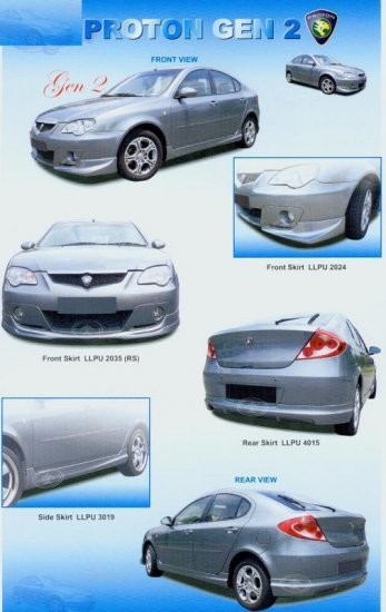Proton Gen2 Full Set PU Body Skirting 2