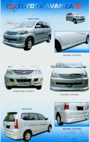Toyota Avanza TRD Bodykit
