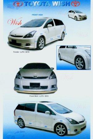 Toyota Wish Body Skirting